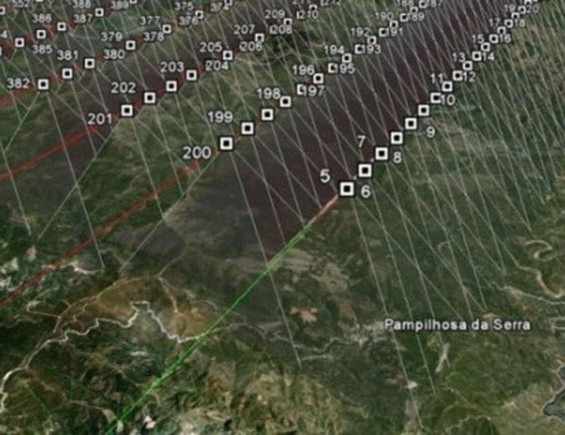 voo digital gsd 50cm / ortofotomapas gsd50cm