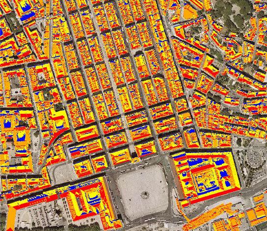 Planos e Estudo mapa de potencial solar