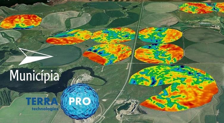 Parceria com a Pro Terra para agricultura de precisão