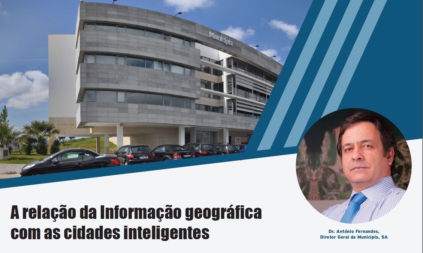 A relação da Informação geográfica com as cidades inteligentes