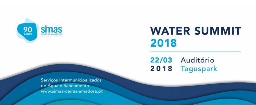 A MUNICÍPIA ESTARÁ PRESENTE NO EVENTO WATER SUMMIT